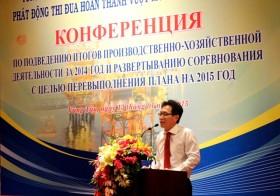 lien doanh viet nga tong ket hoat dong san xuat kinh doanh nam 2014
