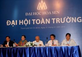 dai hoc hoa sen to chuc dai hoi toan truong dau tien nam 2015