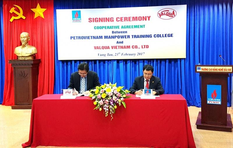 PV MTC và Valqua Việt Nam ký kết thỏa thuận hợp tác