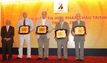 Trao Giải thưởng Văn hóa Phan Châu Trinh lần IX