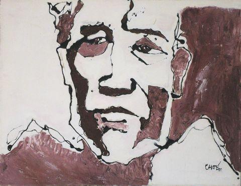 Triển lãm tranh của họa sĩ Chóe