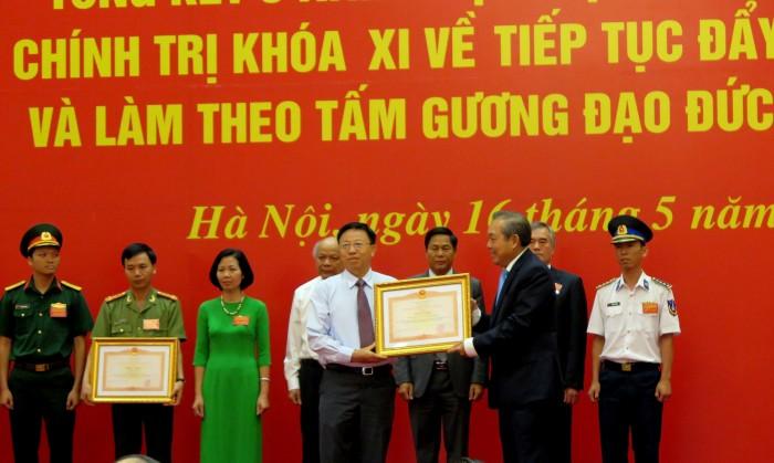 dang bo vietsovpetro nhan bang khen cua thu tuong chinh phu