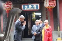 Ai làm hướng dẫn viên cho ông Obama tại chùa Ngọc Hoàng?