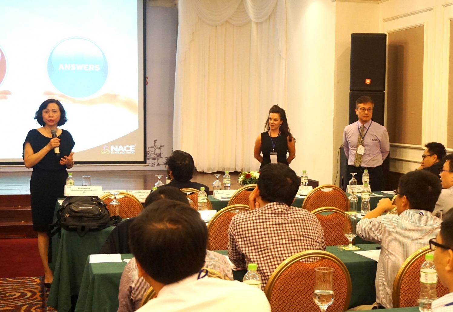 """VPI và NACE tổ chức hội thảo """"Vấn đề ăn mòn trong ngành công nghiệp dầu khí"""""""