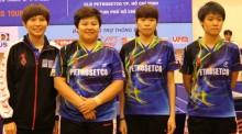 PETROSETCO TP HCM thắng đậm trong ngày đầu ra quân giải Cây vợt vàng