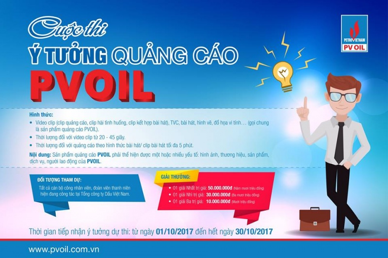cuoc thi y tuong quang cao pvoil