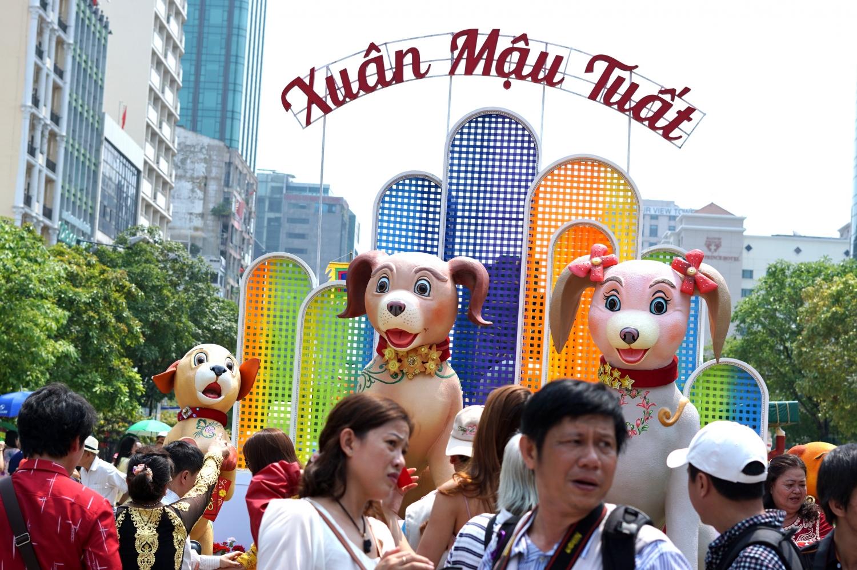 TPHCM: Đường Hoa Nguyễn Huệ Tết Kỷ Hợi mở cửa trong 7 ngày