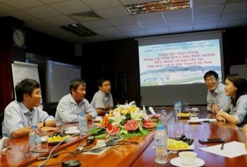 Chủ tịch Công đoàn Dầu khí Việt Nam thăm Công ty đường ống khí Nam Côn Sơn