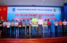 Hội thi ATVSV Giỏi: Thành công nối tiếp thành công