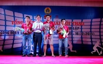 Hội thao chào mừng 24 năm thành lập Công đoàn Dầu khí