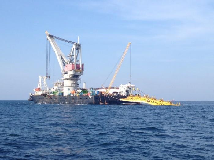 Petrotimes.vn: Vietsovpetro đón dòng khí đầu tiên dự án đường ống dẫn khí Nam Côn Sơn 2