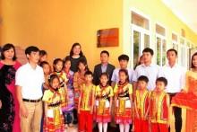 PV GAS thực hiện Chương trình Vì đàn em thân yêu tại Lào Cai