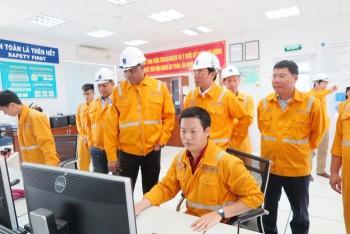 Lãnh đạo Petronas Vietnam thăm và làm việc tại Trung tâm phân phối khí Tiền Hải