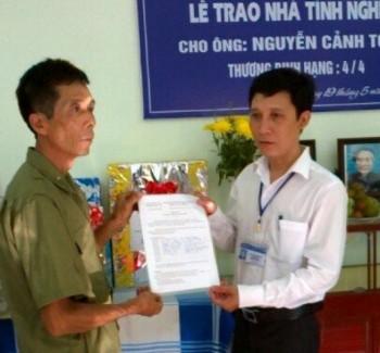 Hội Cựu chiến binh PV GAS hỗ trợ xây dựng nhà Nghĩa tình đồng đội