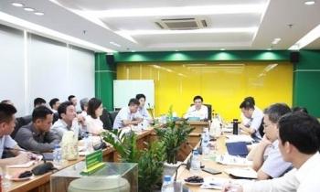 Tổng giám đốc PVN Lê Mạnh Hùng làm việc tại PVFCCo
