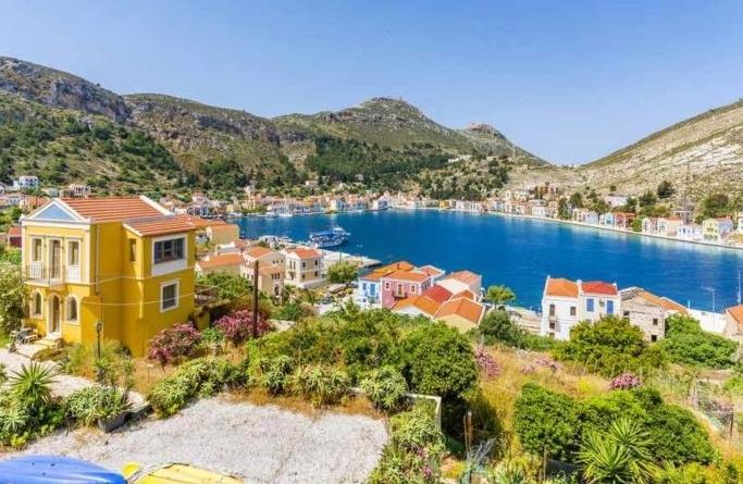 """Ghé thăm đảo Kastellorizo - """"Nàng thơ"""" của Hy Lạp"""