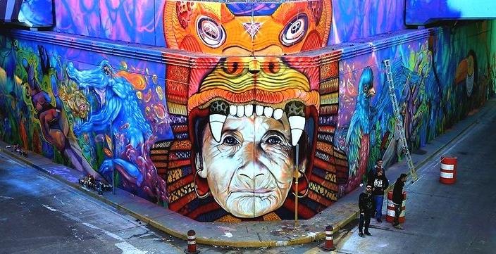Ngắm 16 tác phẩm nghệ thuật đường phố đầy thú vị