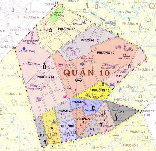 TP.HCM: Điều chỉnh quy hoạch chung xây dựng quận 10