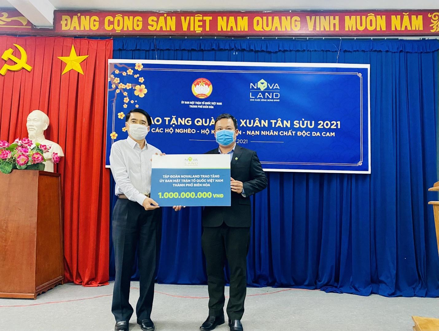 Nova Group đồng hành cùng hộ nghèo, nạn nhân chất độc da cam tỉnh Đồng Nai