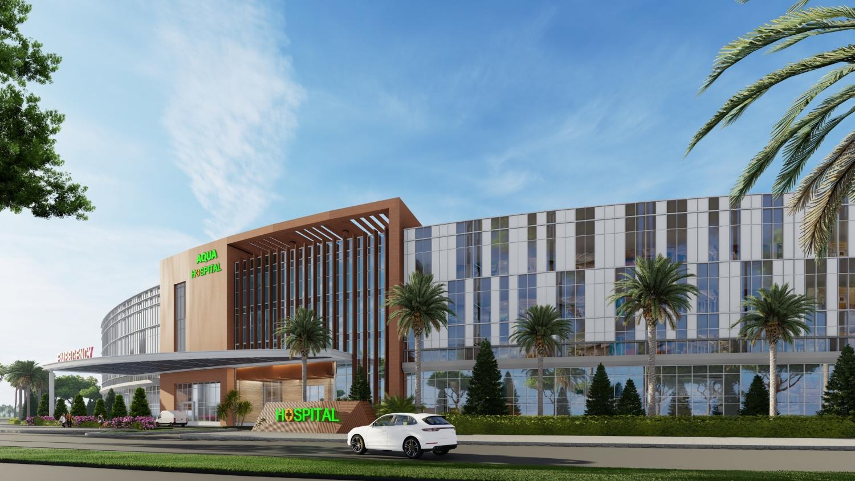 Nova Healthcare Group sẽ đặt trọng tâm vào việc phục vụ cư dân và du khách tại các dự án trọng điểm do Tập đoàn Novaland đầu tư (Trong ảnh: Phối cảnh Bệnh viện đa khoa Quốc tế tại dự án Aqua City, Đồng Nai)