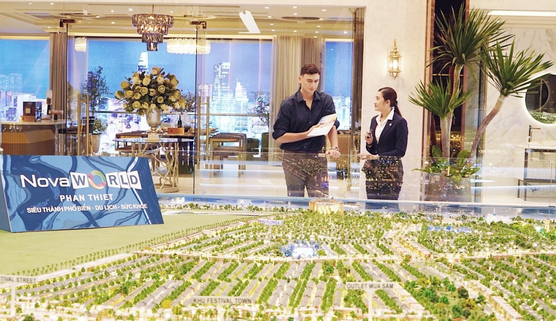Lợi thế hạ tầng tiềm năng với sân bay và cao tốc sắp hoàn thành giúp thủ thành người Nga mạnh dạn cân nhắc đầu tư biệt thự golf tại NovaWorld Phan Thiet. Ảnh: Novaland