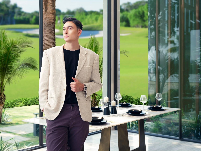 Biệt thự giữa lòng sân golf mang đến cơ hội đầu tư hấp dẫn và thỏa niềm đam mê thể thao của chàng thủ thành số 1 Việt Nam. Ảnh nhà mẫu PGA Golf Villas – NovaWorld Phan Thiet.