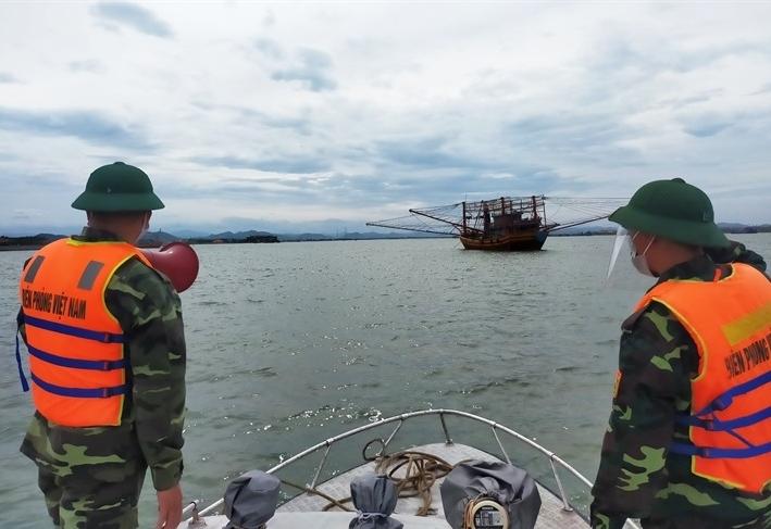 BĐBP Quảng Bình triển khai các biện pháp phòng, chống bão Conson