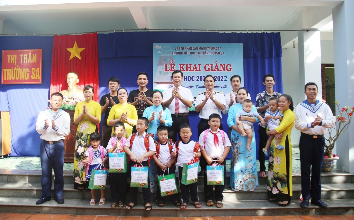 Huyện đảo Trường Sa: Khai giảng năm học mới
