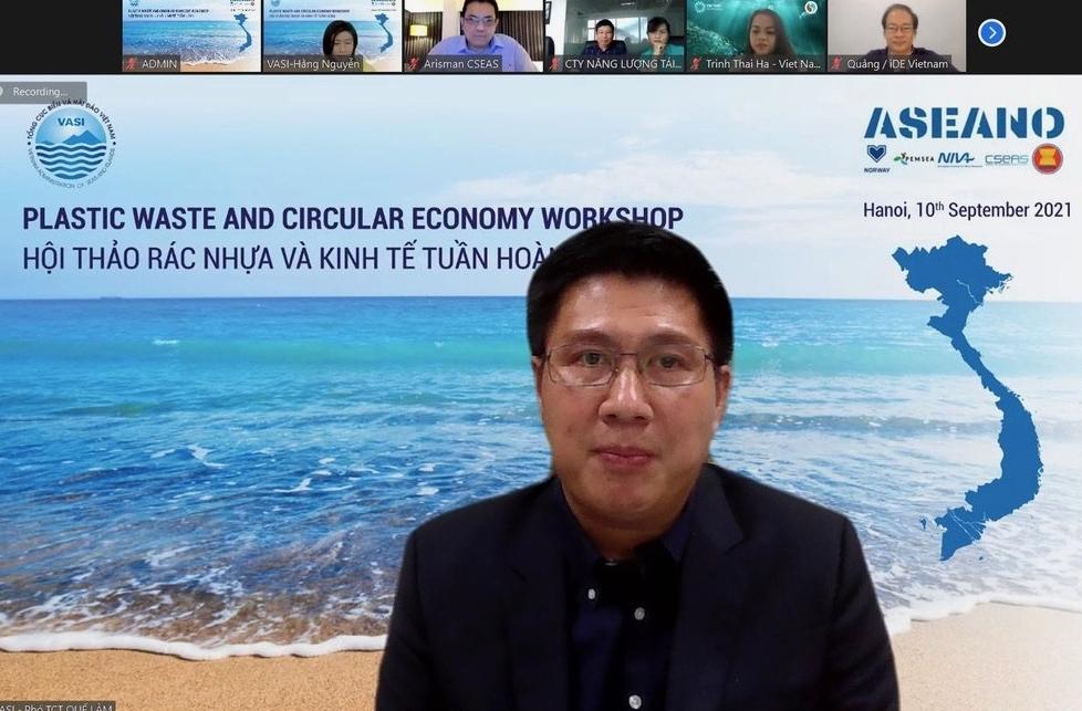 Rác nhựa và Kinh tế tuần hoàn