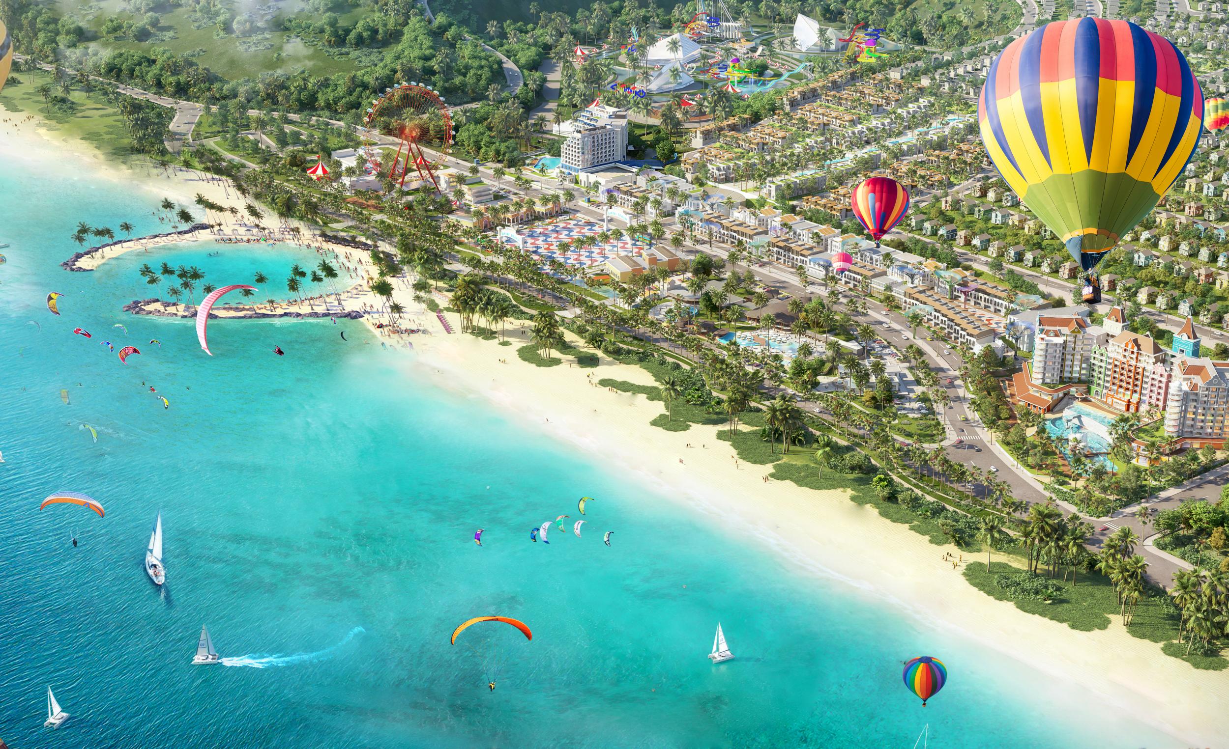 Phối cảnh dự án NovaWorld Phan Thiet 1.000 ha