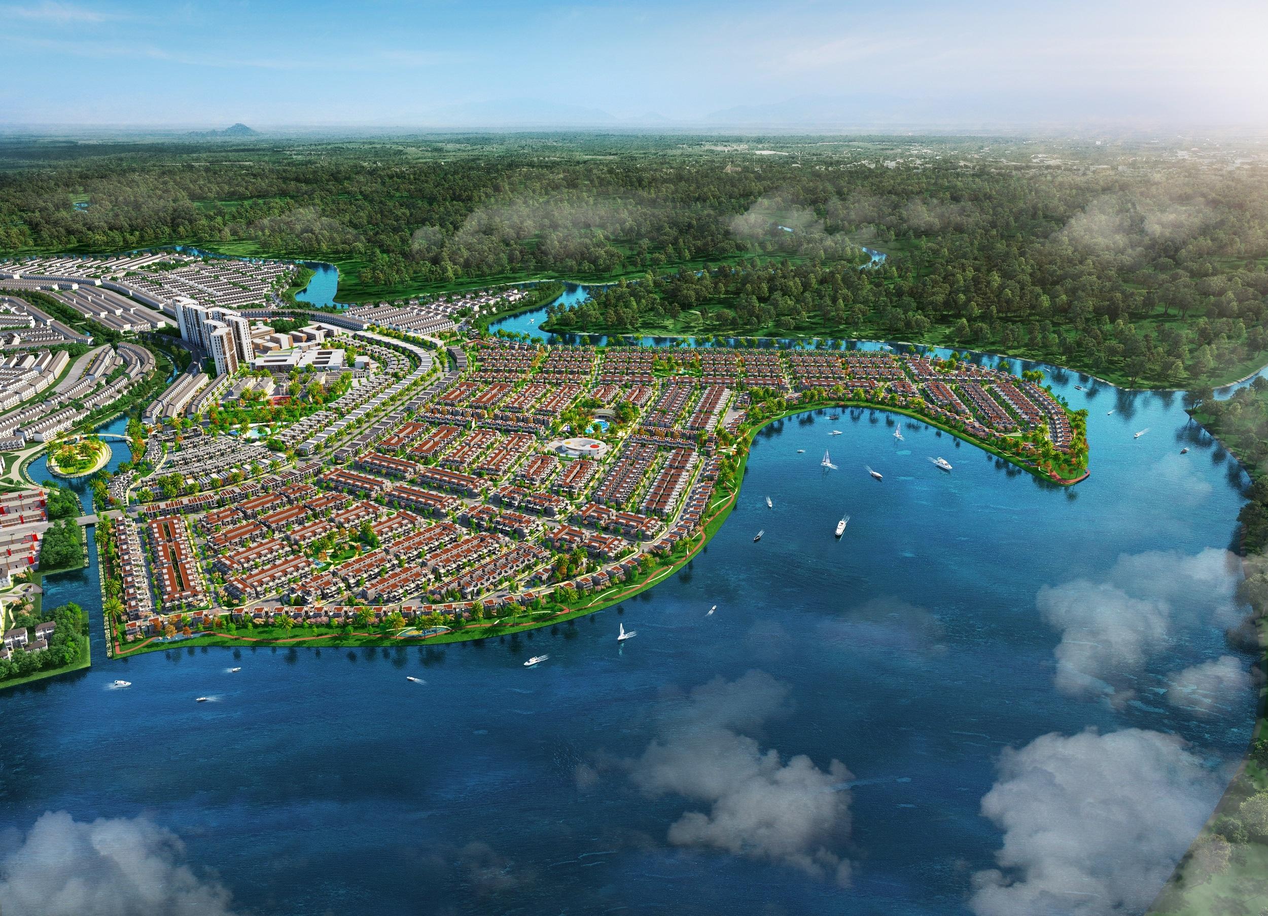 Aqua City tiếp tục tăng sức hút nhờ đảm bảo tiến độ và tiềm năng sinh lời