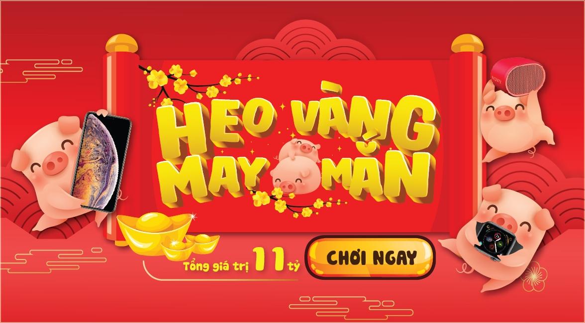 tang toc don xuan nhan ngan qua tang cung viettel san heo vang may man trung iphone xs max