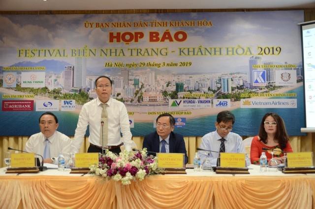 khanh hoa to chuc hop bao ve hoat dong chuong trinh festival bien nha trang khanh hoa lan thu 9 nam 2019