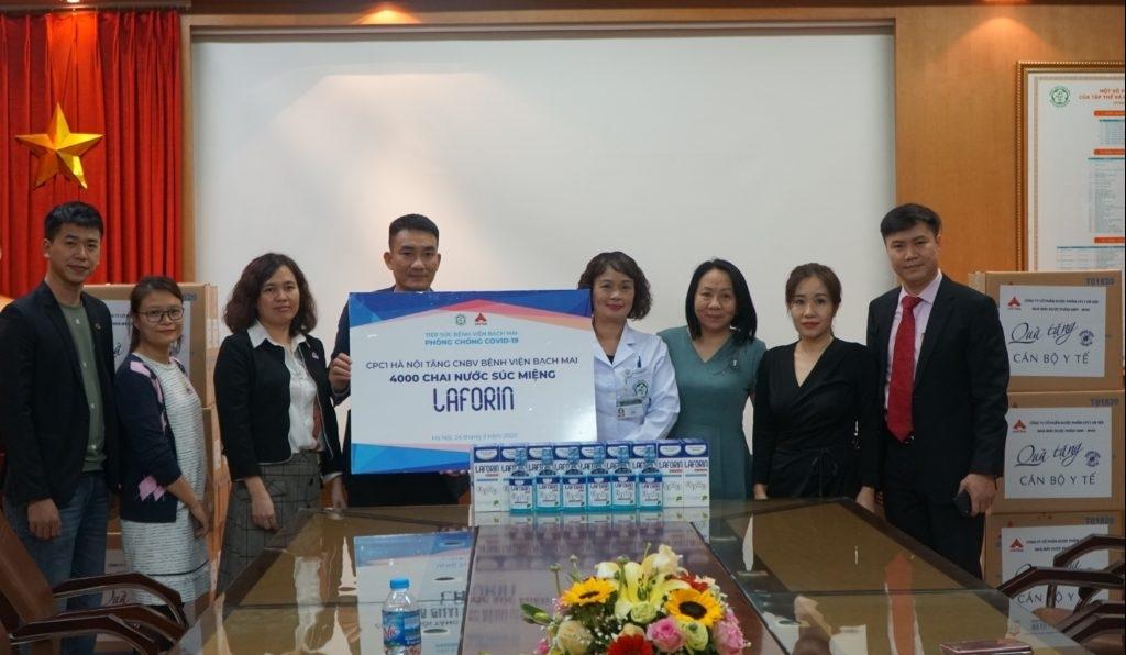 Công ty CP Dược phẩm CPC1 Hà Nội chung tay chống dịch Covid-19