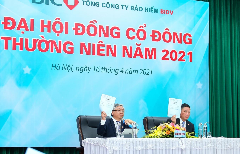 Bảo hiểm BIDV (BIC) tổ chức Đại hội đồng cổ đông thường niên năm 2021