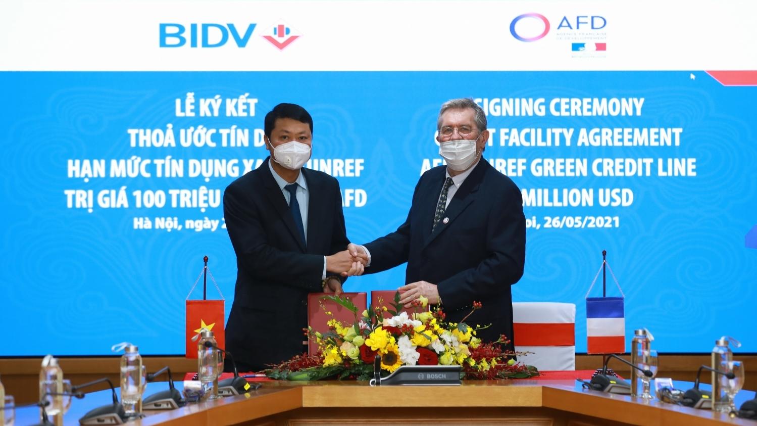 AFD cung cấp hạn mức 100 triệu USD cho BIDV để tài trợ các doanh nghiệp trong lĩnh vực năng lượng