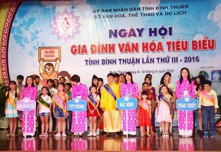 ngay hoi gia dinh van hoa tieu bieu tinh binh thuan nam 2019