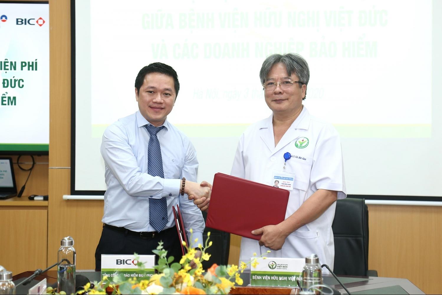 Tận hưởng ưu đãi của BIC tại Bệnh viện Hữu nghị Việt Đức