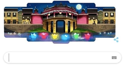 hoi an duoc google lam bieu tuong tren trang chu