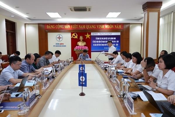Điện lực Quảng Ninh phấn đấu hoàn thành tốt kế hoạch sản xuất kinh doanh giai đoạn 2016-2020
