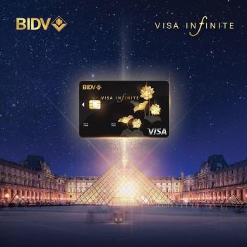 trai nghiem dac quyen danh cho gioi thuong luu voi the bidv visa infinite