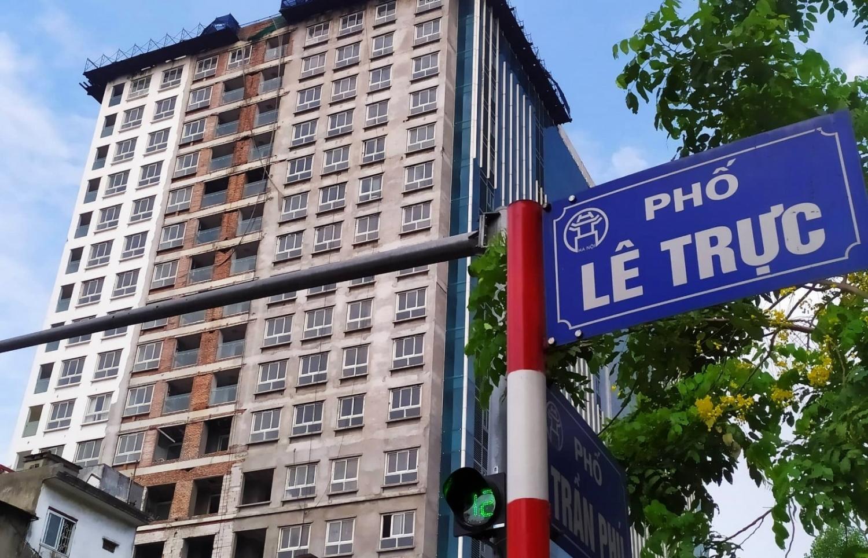 Thủ tướng yêu cầu Hà Nội xử lý dứt điểm dự án 8B Lê Trực