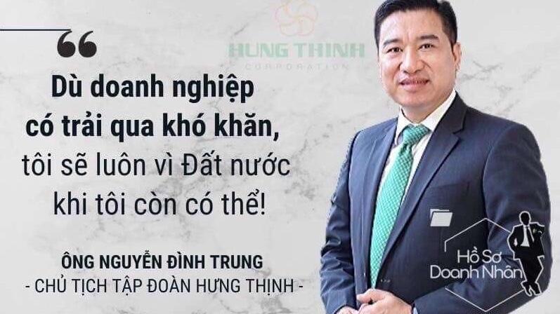 Chủ tịch Tập đoàn Hưng Thịnh liên tiếp 4 năm được vinh danh vì thực hiện tốt chế độ, chính sách đối với người lao động