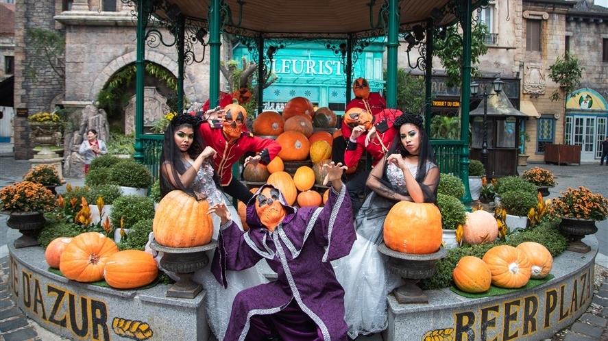 """31/10 này, xứ sở Cầu Vàng """"biến hình"""" với lễ hội Halloween"""
