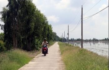 Kiên Giang: Xây dựng nông thôn mới làm thay đổi diện mạo nông thôn