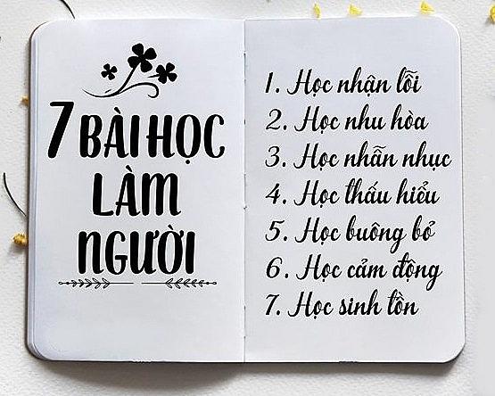 bai hoc lam nguoi