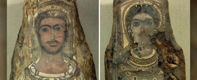 Phát hiện xác người bên trong 3 bức tượng dát vàng có niên đại 2.000 năm