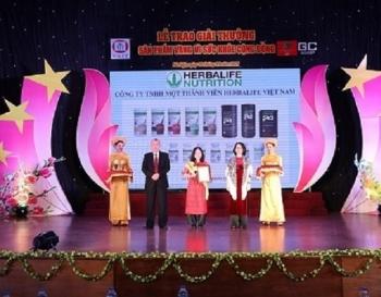 """Những sản phẩm nào của Herbalife Việt Nam được vinh danh """"Sản phẩm vàng vì sức khỏe cộng đồng""""?"""