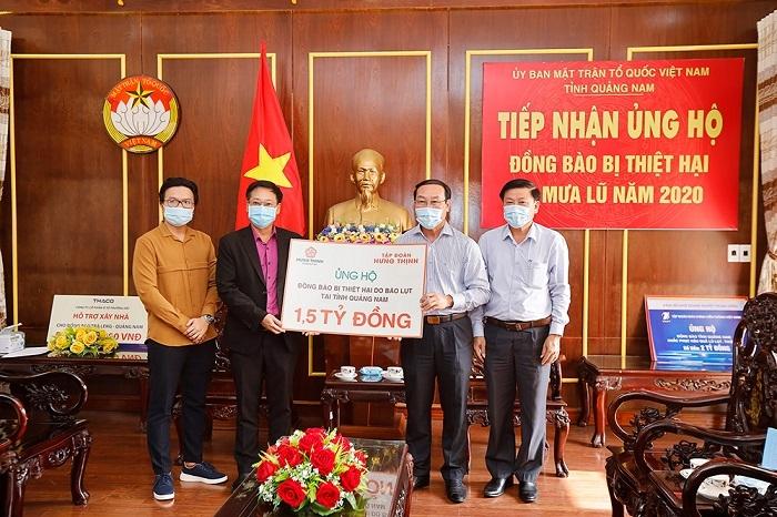 Tập đoàn Hưng Thịnh tiếp tục hỗ trợ miền Trung thêm 3.5 tỷ đồng