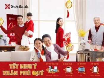 """Tin nhanh ngân hàng ngày 24/12: """"Tết như ý - Xuân phú quý"""" với gần 12.000 quà tặng hấp dẫn từ Ngân hàng SeABank"""